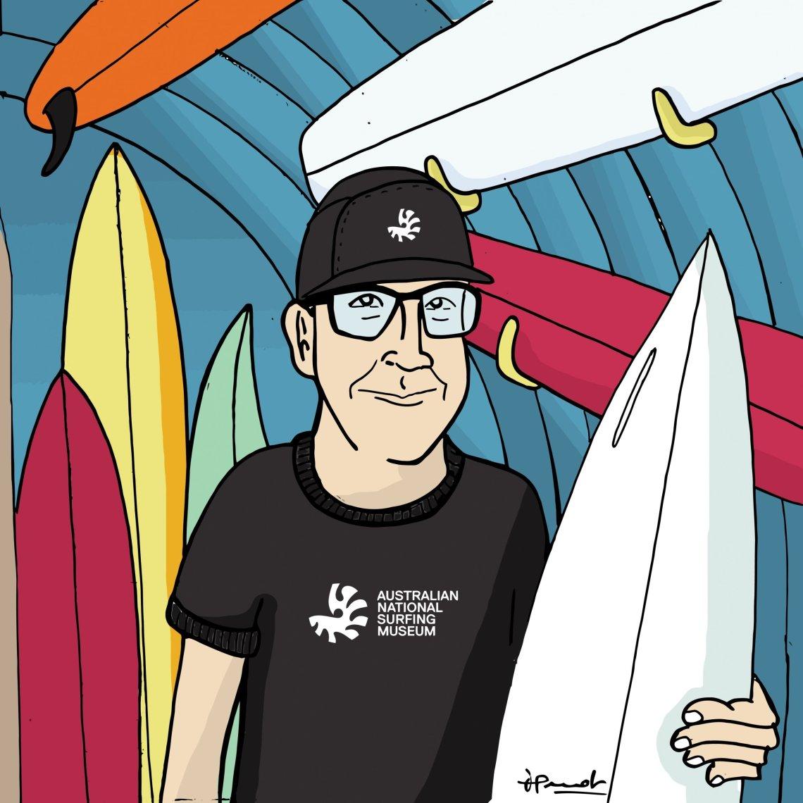 Craig Baird Australian National Surf Museum