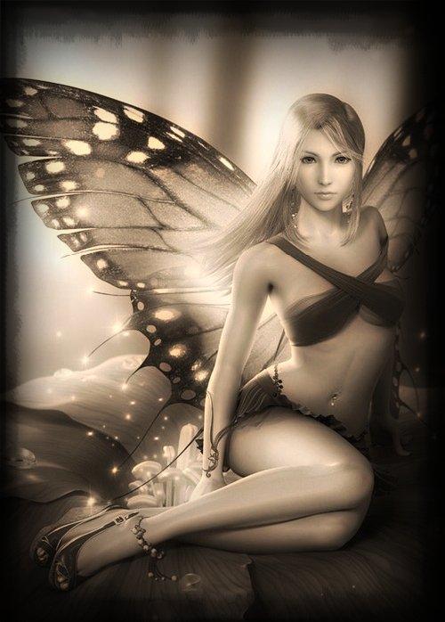 Sex Fairy Visits Faith