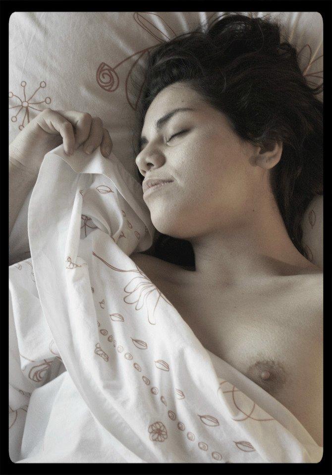 sleeping soundly