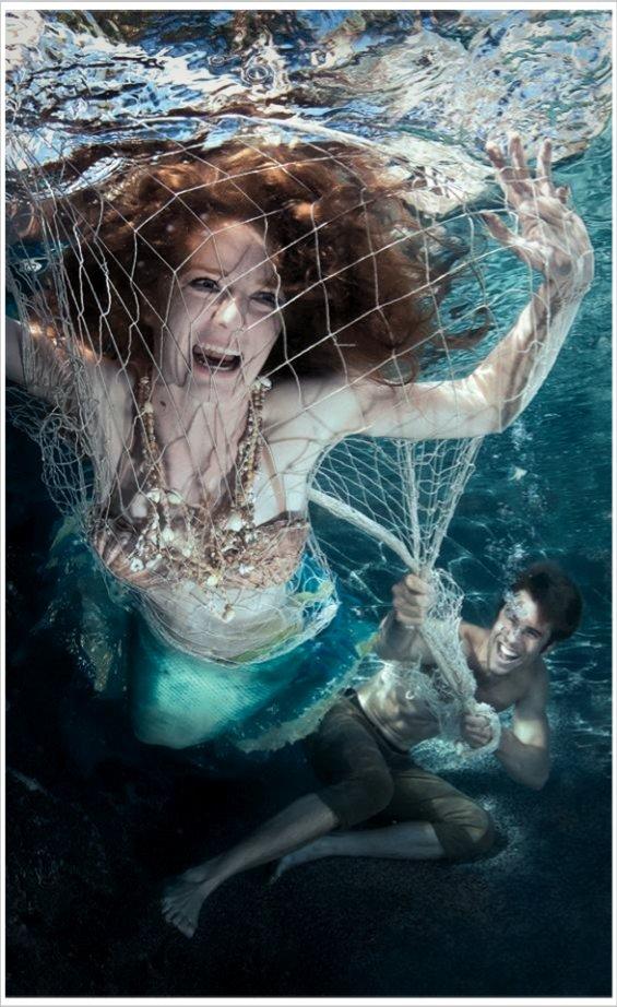 mermaid phone sex, boat, water, sun