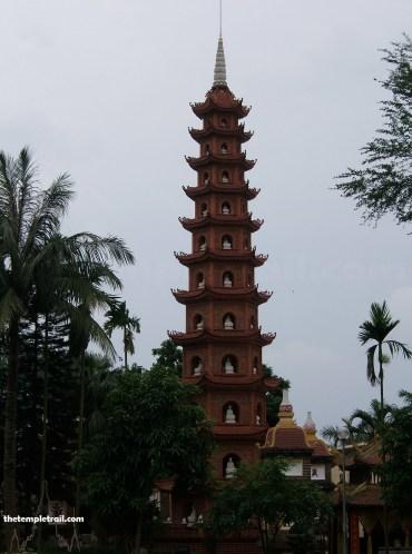 Chua Tran Quoc, Hanoi