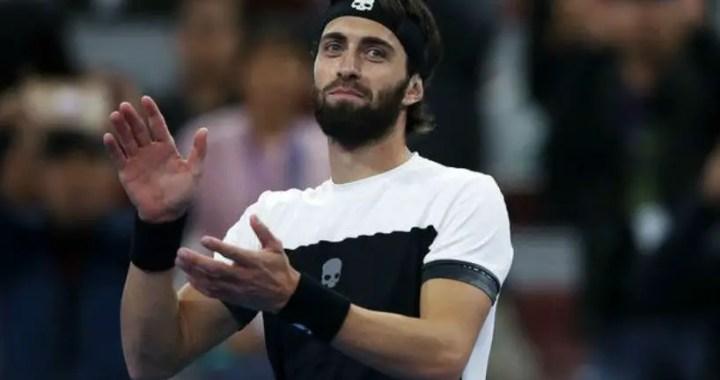 Nikoloz Basilashvili continues performance at Doha tournament