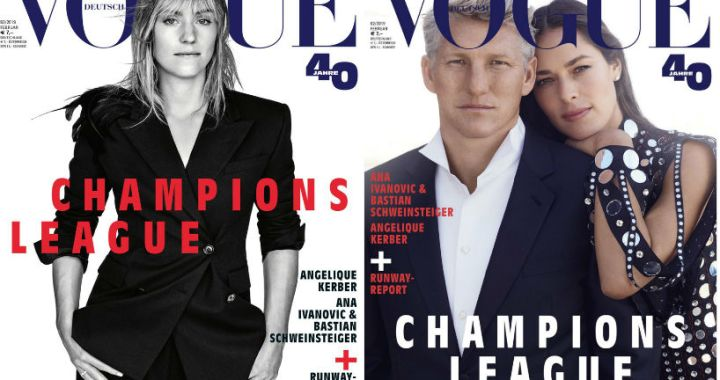 Angelique  Kerber and Ana Ivanovic hit the covers of different versions of Vogue (PHOTOS)