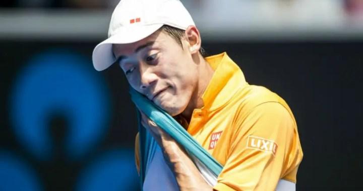 Australia. Kei Nishikori defeated Ivo Karlovic in five sets
