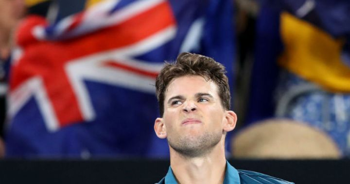 Dominic Thiem withdrew from the Australian Open