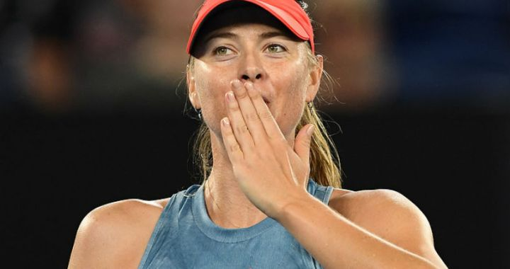 Maria Sharapova successfully started at the tournament in St. Petersburg