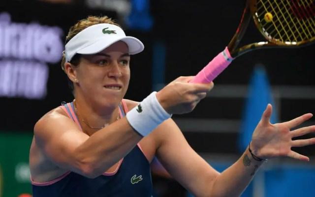 Melbourne. Anastasia Pavlyuchenkova gave Aliaksandra Sasnovich only three games