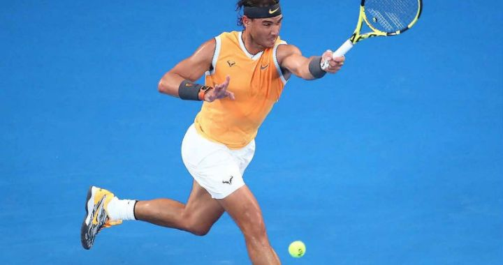 Rafael Nadal continues to perform at the Australian Open