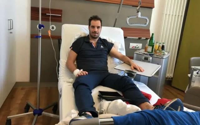 Richard Gasquet underwent surgery