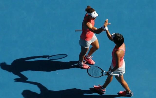 Samantha Stosur and Zhang Shuai won the Australian Open doubles