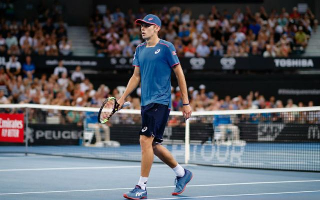 Sydney. Alex De Minaur fights with Reilly Opelka for reaching the quarter finals