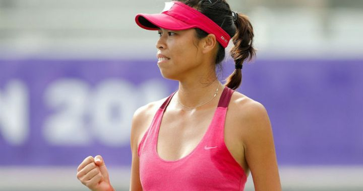 Su-Wei Hsieh achieved victory in the quarterfinals of the ASB Classic tournament