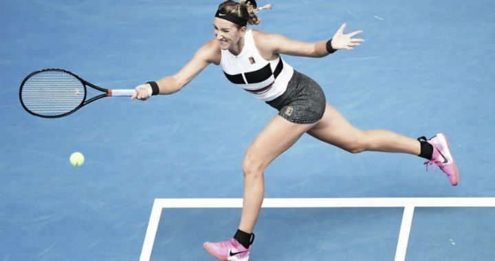 Acapulco. Victoria Azarenka defeated the second racket of the tournament