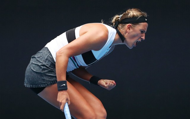 Acapulco. Victoria Azarenka gave only three games to her opponent