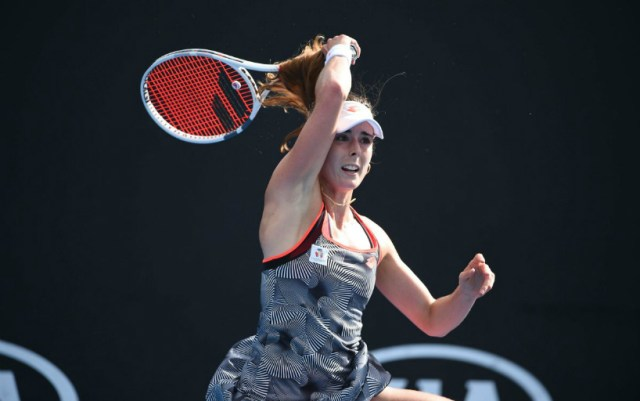 Alize Cornet continues to perform in Dubai