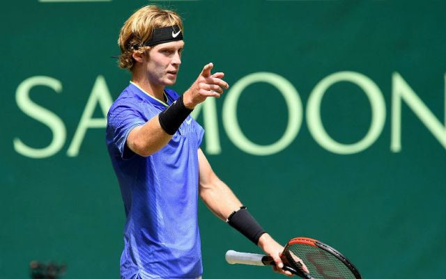 Andrey Rublev leaves the tournament in Marseilles