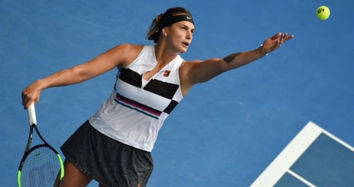 Aryna Sabalenka became the semi-finalist of the tournament in St. Petersburg