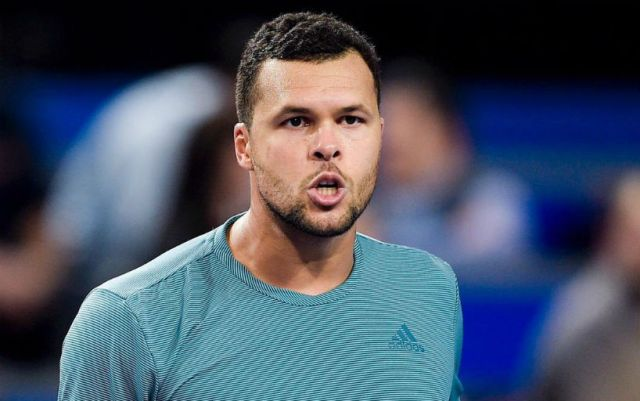 Jo-Wilfried Tsonga went to the second round of the Montpellier tournament