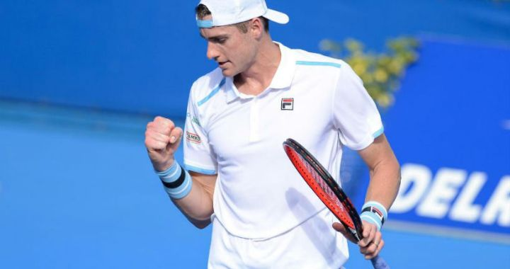 Delray Beach. John Isner reached the semifinals