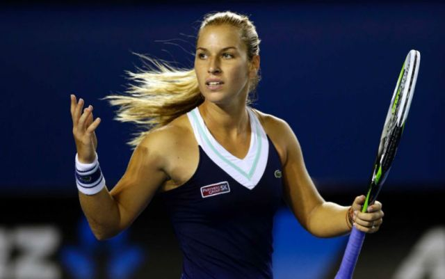 Dubai. Dominika Cibulkova fights with Karolina Pliskova for reaching the quarterfinals