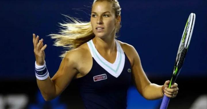 Dubai. Dominika Cibulkova fights with Karolina Pliskova for reaching the quarterfinals
