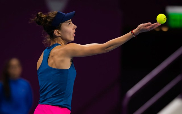 Dubai Duty Free Tennis Championships. Mihaela Buzarnescu took only three games from her opponent