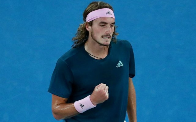 Dubai. Stefanos Tsitsipas made his way into the second round