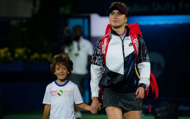 Elina Svitolina continues performance in Dubai
