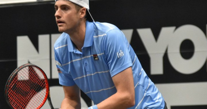 John Isner failed to reach the final of the tournament in New York