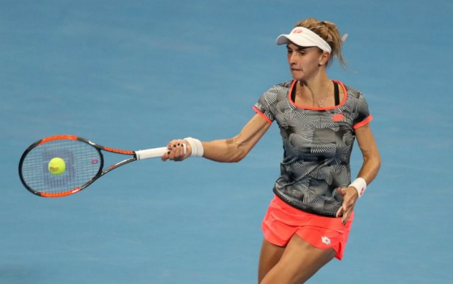 Lesia Tsurenko made it to the third round of the competition in Dubai