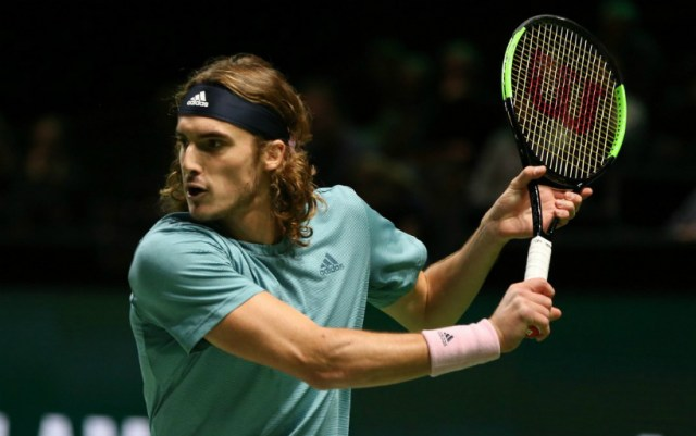 Marseilles. Stephanos Tsitsipas duet with his brother