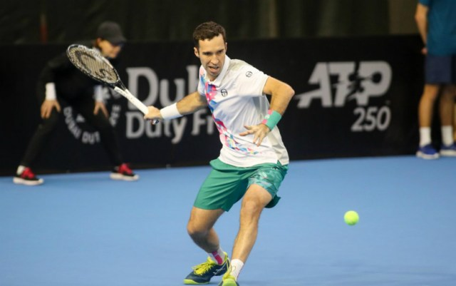 Mikhail Kukushkin with a victory started in Rotterdam