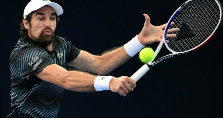 Montpellier. Jeremy Chardy advanced to the quarter-finals