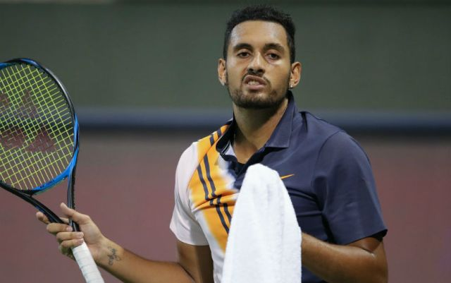 Nick Kyrgios finished his performance at Delray Beach