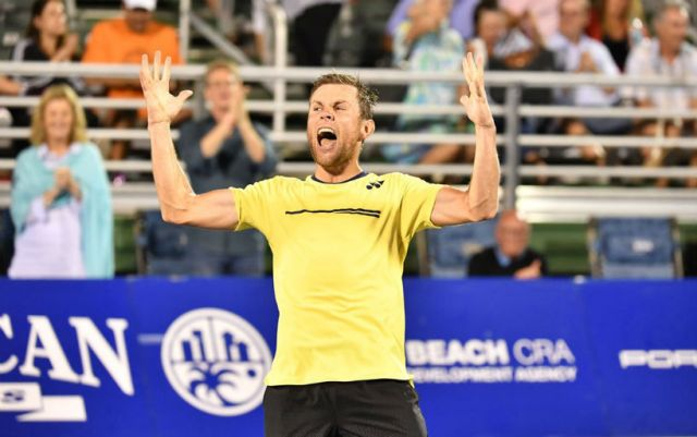 Radu Albot made it to the final of the Delray Beach tournament