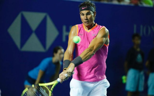 Rafael Nadal successfully started in the tournament in Acapulco