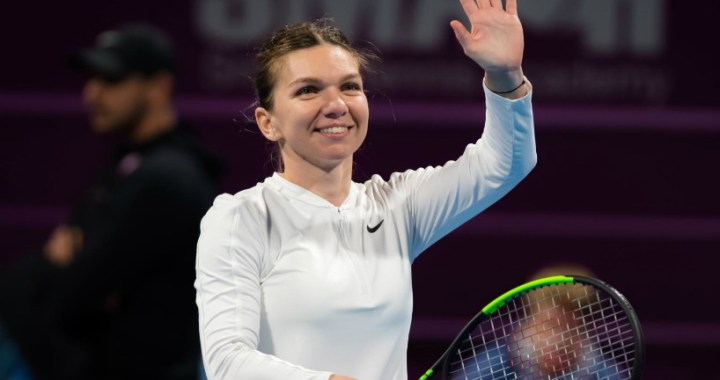 Simona Halep performed the best kick of the third game of the day at the Doha tournament (VIDEO)