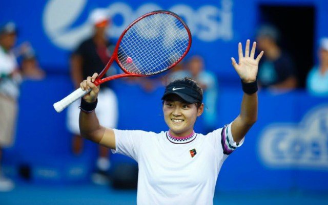 Acapulco. Wang Yafan won the first trophy in his career