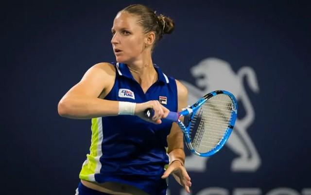 Karolina Pliskova made it to the quarterfinals of the tournament in Miami