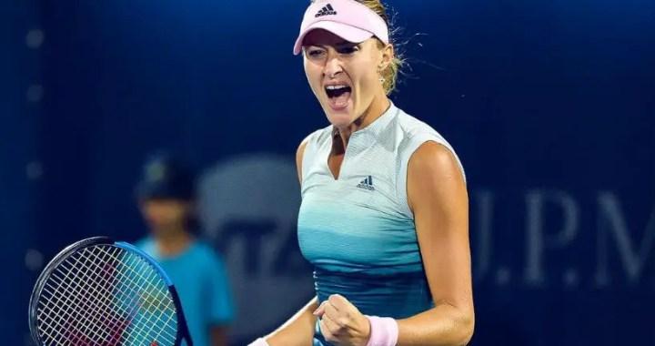 Indian Wells. Kristina Mladenovic became the first rival of Naomi Osaki