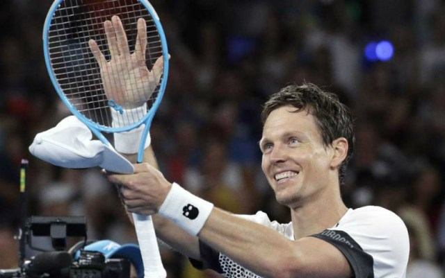 Indian Wells. Tomas Berdych lost in the second round