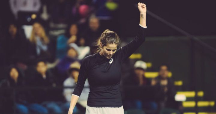 Julia Goerges completed her performance in Indian Wells