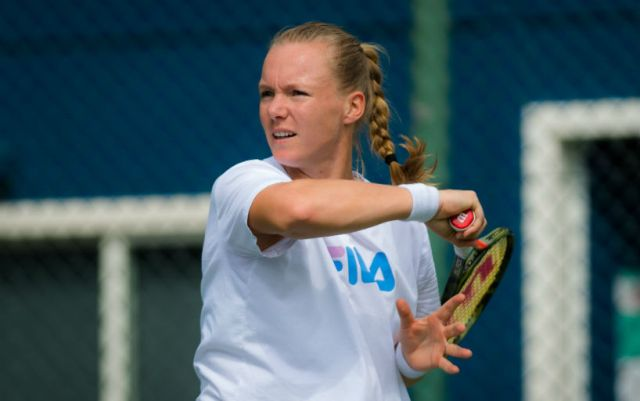 Kiki Bertens will play in the third round of the competition in Indian Wells