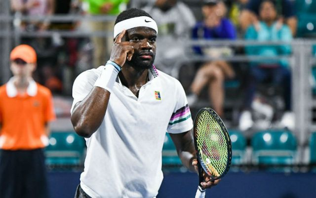 Miami. Francis Tiafoe entered the next round of the competition.