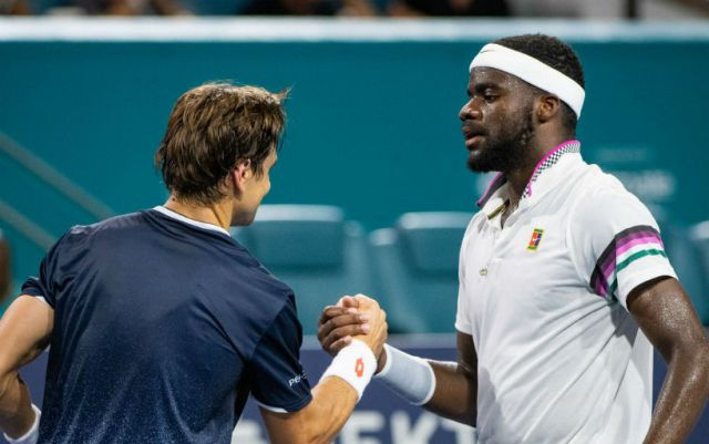 Miami Open. Francis Tiafoe defeated David Ferrer