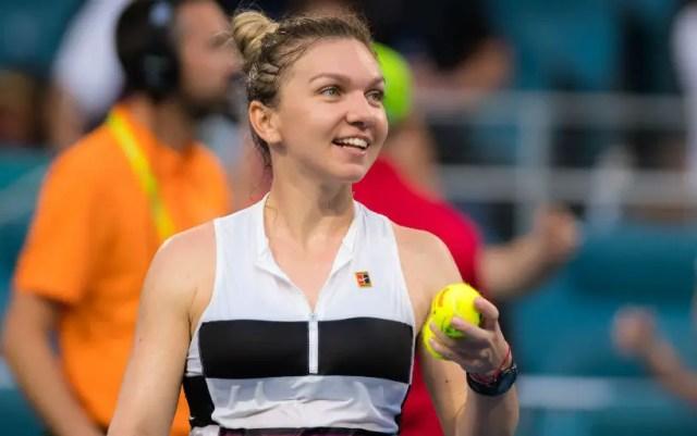 Miami. Simona Halep was stronger than Venus Williams
