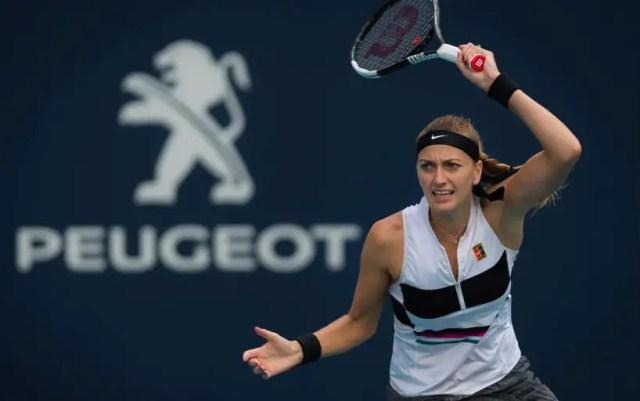 """Petra Kvitova became quarterfinalist """"Premiere"""" in Miami"""