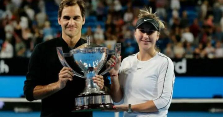 Roger Federer: Bencic has made tremendous progress