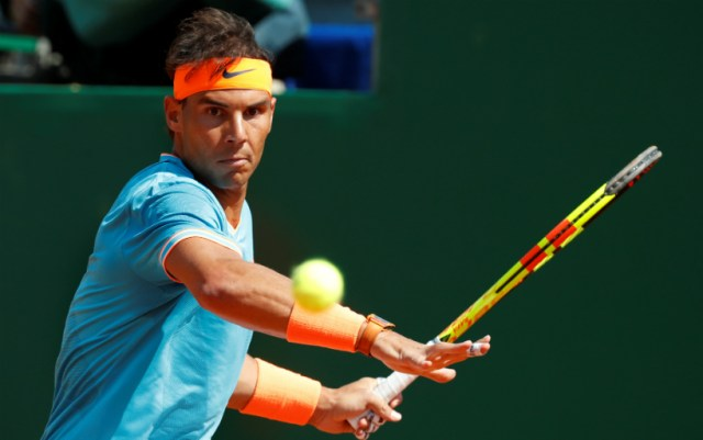 Barcelona. Rafael Nadal took over David Ferrer