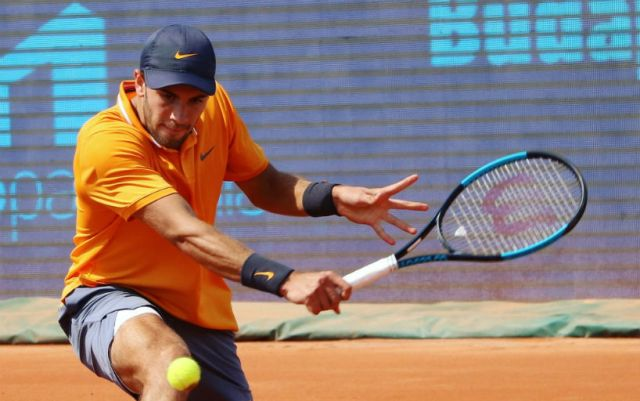 Borna Coric failed to reach the semifinals of the tournament in Budapest